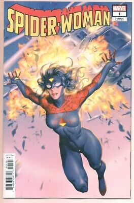 SPIDER-WOMAN #1 YOON NEW COSTUME Variant Cover NM