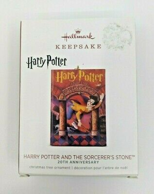 2018 Hallmark HARRY POTTER AND THE SORCERER'S STONE Christmas Ornament 20th Book