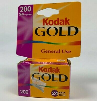 New In Box Kodak Gold 200 General Use 24 Exp 35mm Film