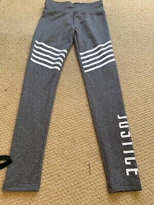 Justice USA Sports Leggings Age 12 New