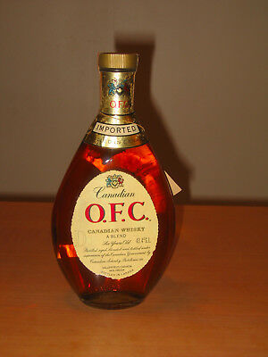 Canadian Whisky O.F.C. 6 Years Old - 43,4 ° G.L. 75cl - année 1966 !