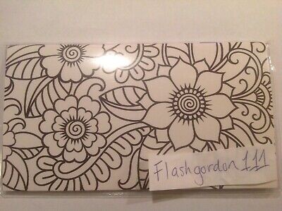 2020-2021 ADULT COLORING FLOWER PATTERN Two Year Planner Pocket Calendar 2 Year
