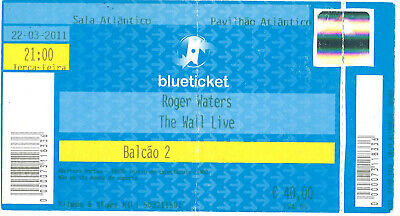 Pink Floyd - Roger Waters Ticket Tour The Wall 2011