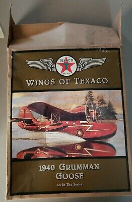 ertl wings of texaco 1940 grumman goose airplane #4