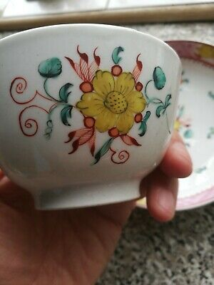 Oriental Porcelain Tea Bowl And Plate Chinese Japanese