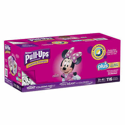 Huggies Pull Ups Training Pants For Girls Size 2T-3T: 18-34lbs, 124ct  CWS