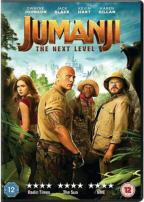 Jumanji: The Next Level New DVD / Free Delivery
