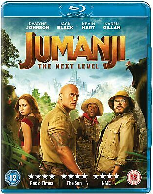 Jumanji: The Next Level New Blu-Ray / Free Delivery