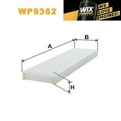 1x Wix Pollenfilter WP9362
