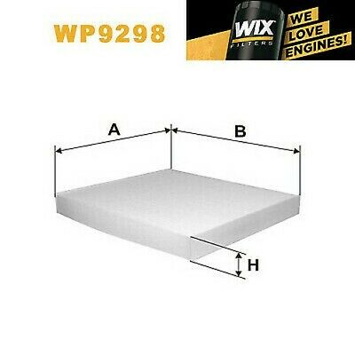 1x Wix Pollenfilter WP9298