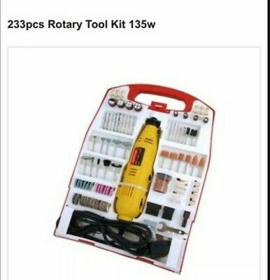 135W Rotary Mini Drill Grinder Multi Tool Accessory Set Hobby Craft Dremel Type