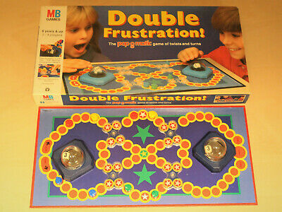 Double Frustration Board Game - MB Games - Vintage 1989 - Complete - VGC - Rare