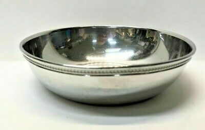 Vintage United States Senate Silver Plate Bowl
