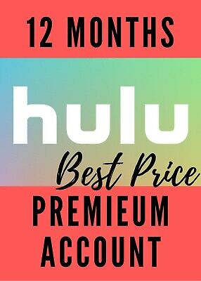 Hulu Premium + Hbo + No Ads + + | 1 Years | Fast Delivery