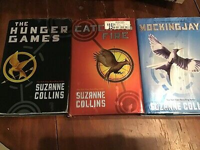 HUNGER GAMES Trilogy 3 Hardcover Set Complete Series Suzanne Collins