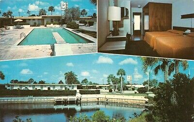 Port Charlotte Motel Fla Funk Advertising Co chrome