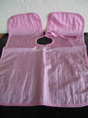 "Authentic American Girl  18"" Doll 2009 Pink Salon Cape"