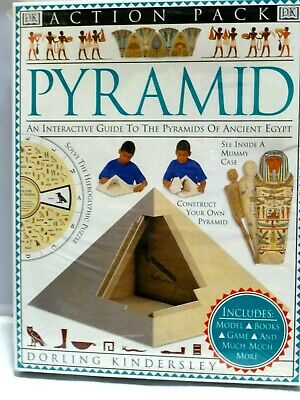 DK Action Pack Pyramid Interactive Guide to the Pyramids of Ancient Egypt 1st ED