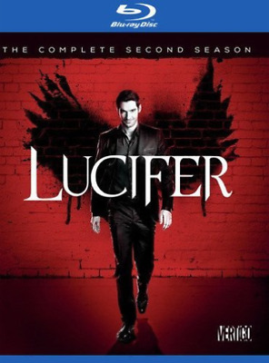 LUCIFER: THE COMPLETE SECON...-LUCIFER: THE COMPLETE SECOND SEASON ( Blu-Ray NEW