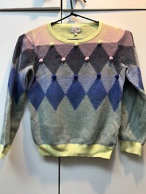 Seed Girls Cotton Jumper size 6-7