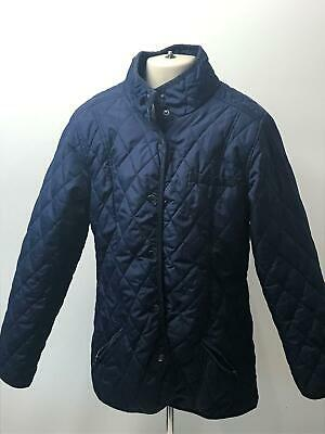 Girls Miss Evie Navy Quilted Lightweight Coat Jacket Kids Age 13-14 Years