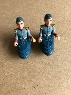 2 x 1992 Matchbox Stingray Sam Shore Action Figures Gerry Anderson