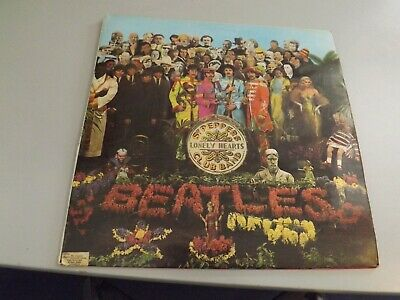 The Beatles Sgt Peppers Lonely Hearts Club band original vinyl