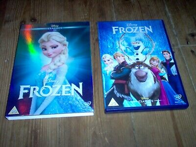 Disney's Classic No. 52 Frozen DVD With Limited Edition O Ring Slipcover/Sleeve