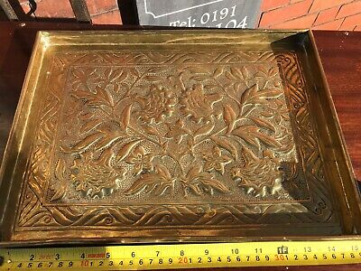 Keswick School Of Industrial Arts Beautiful Brass Tray