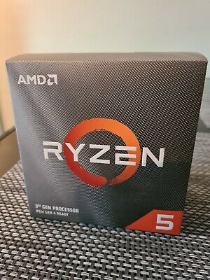 AMD Ryzen 5 3600 CPU with Wraith Stealth Cooler, AM4, 3.6GHz (4.2 Turbo), 6-Core
