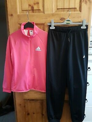 Girls Adidas Tracksuit Age 11 /12 Years fab