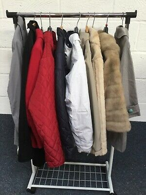 Job Lot Ladies Coats Mixed Styles & Sizes - 10 In Total LOT2