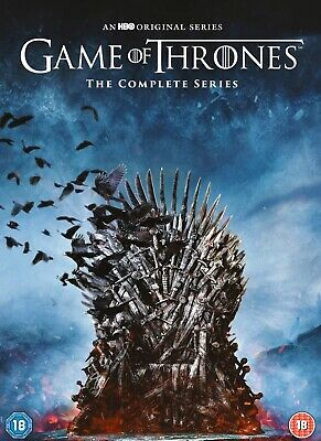 Game of Thrones Seasons 1-8 - The Complete Series Brand New & Sealed