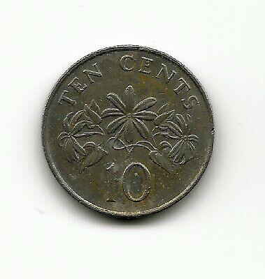 World Coins - Singapore 10 Cents 1987 Coin KM# 51