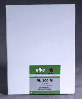 Efke PL 100 M 5x7 Film and 8 Lisco Film Holders