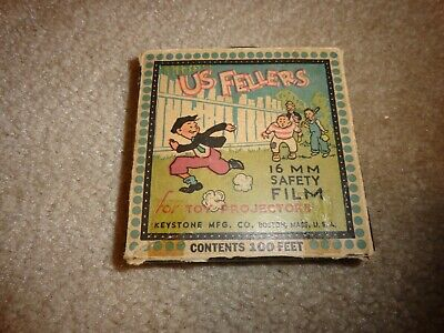 Vintage Keystone 16mm Safety Film US Fellers for Toy Projectors