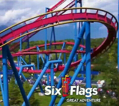 Six Flags Great Adventure Nj Tickets $39 A Promo Discount Savings Tool