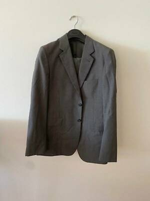 Country Road Wool Men's Grey Jacket and Pants Suit - Size 40