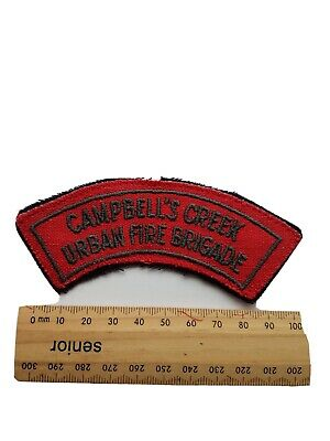 CFA Campbell's Creek Urban Fire Brigade Vintage Patch