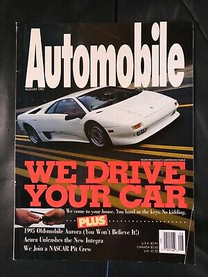 Automobile Magazine / ISSUE AUGUST 1993 / NEW!