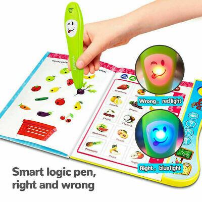 Educational Kids Children Learning Toys For 3+ Year Old Interactive Book Toddler