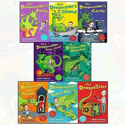 Josh Laceys 8 Books Collection Set - The Dragonsitter, Detective, Trick Or Treat