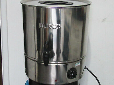 BURCO - Water Boiler 20 Litre   Stainless Steel     **GOOD WORKING ORDER**