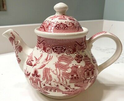 RARE Churchill Willow Rosa Teapot - Mint Condition