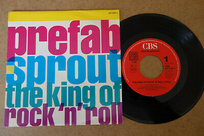 "Prefab Sprout The King Of Rock 'N' Roll Jukebox 7"" Single Germany Mint Unplayed"