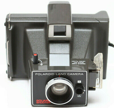 Polaroid Square Shooter Instant Pack Film Land Camera Made in USA 1970s
