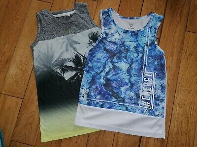 *River Island* Gorgeous Boys Bundle Of Vests Tops Holiday Summer Beach