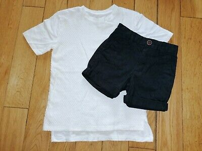 *River Island Next* Gorgeous Boys Shorts & T-Shirt Top Outfit Set Holiday Summer