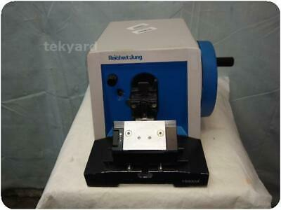 Reichert-Jung 820-Ii  Histocut Rotary Microtome ! (241583)