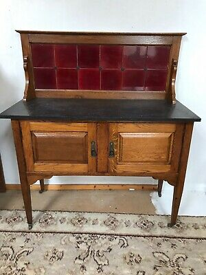 Antique, Vintage, Art Deco Style Wardrobe, Dressing Table And Washstand Bedroom